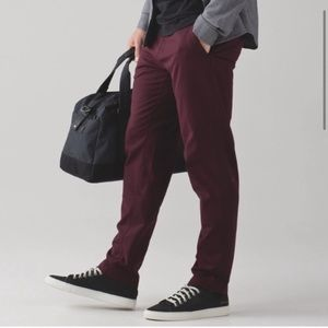 Lululemon Commission Pant Maroon 34L